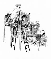 ladder by s-u-w-i