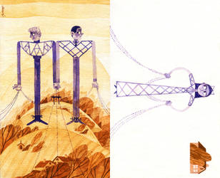 High-Voltage Columns by s-u-w-i