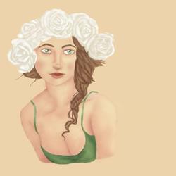 Flower Crown by MorbiferousMouse