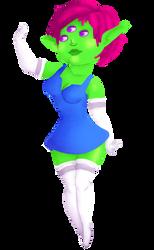 Green Girl by MorbiferousMouse