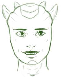 Lizardgirl by MorbiferousMouse