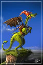 Dumb Dragon by 14-bis