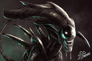 The Alien Queen by 14-bis