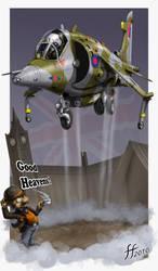 Cartoon Harrier by 14-bis