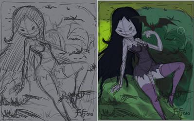 marceline sketch by 14-bis