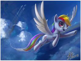 Rainbow Dash by 14-bis