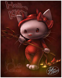 Hell Kitty by 14-bis