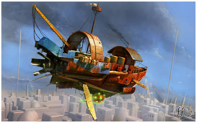 Flying boat 2 by 14-bis