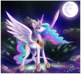 Princess Celestia by 14-bis