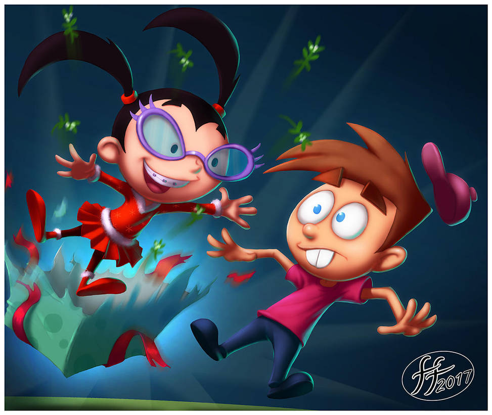 Timmy and Tootie xmas by 14-bis