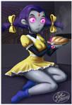 Raven loves pie by 14-bis