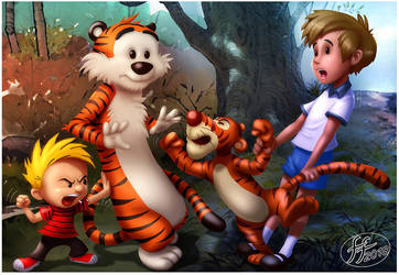 Tiger versus Tiger by 14-bis