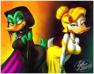 Scrooge's Ladies by 14-bis