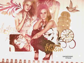 EMMA WATSON by mj-editions
