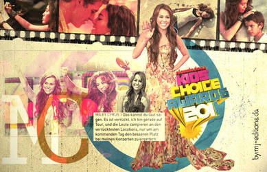 KCA MILEY by mj-editions