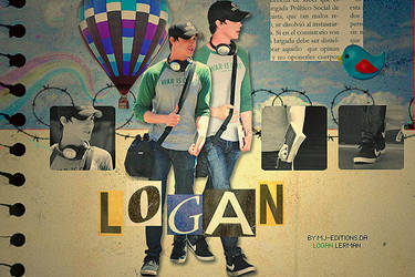 Logan Lerman by mj-editions