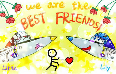 We are the BEST FRIENDS! by xiaokuLittleKu