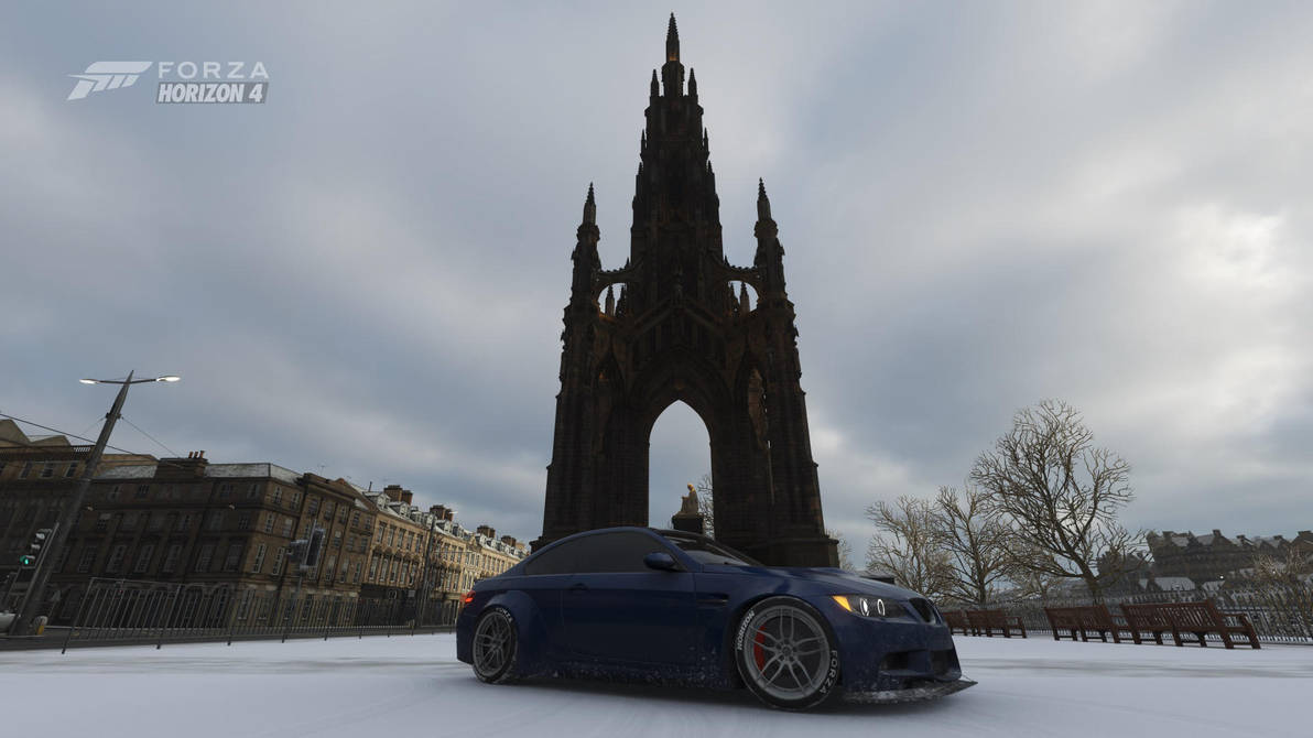 Welcome to Edinburgh - Scott Monument by Wolf-S305