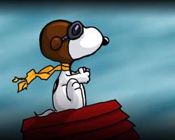 Snoopy rough by LustmordandWargasm