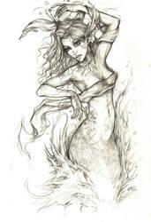 Sea Nymph by Indigo-Summers