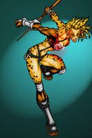 Cheetara colored by ragnarok2k3