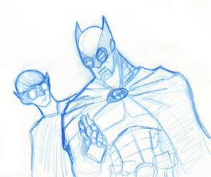 Batman and Robin concept by ragnarok2k3