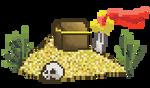 Treasure! by FourSidedTringle