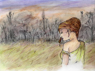 Demeter Mourns Persephone by Boo756