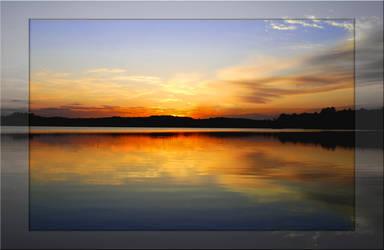 Maine sunset by allieactress101