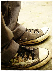 Converse All Star II by itarciodesign