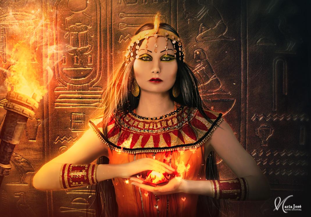 Egyptian magic by Eithen