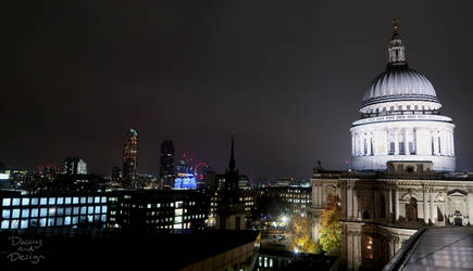 St. Paul's skyline by DecayAndDesign