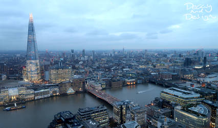 London skyline 2 by DecayAndDesign