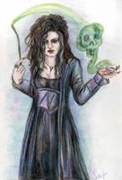Bellatrix Lestrange by Le-ARi