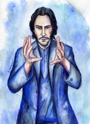 Keanu Reeves by Le-ARi