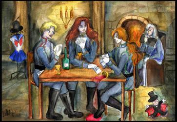 Play cards by Le-ARi