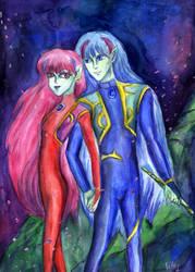 Ail and Ann by Le-ARi