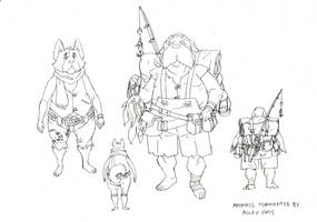 Dog people concepts 1 by DanNortonArt