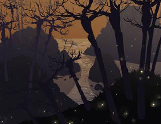 Shadow Islands by DanNortonArt