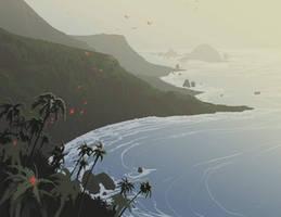 High Tide by DanNortonArt