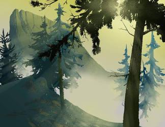 Mystic Valley by DanNortonArt