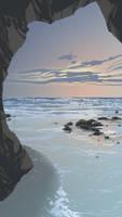 In the Cove by DanNortonArt