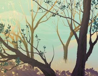 Daydreaming by DanNortonArt
