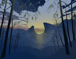 Sun Up by DanNortonArt