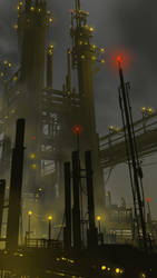 Refinery by DanNortonArt