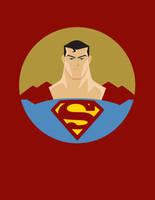 Superman Vector by mo-stylez09