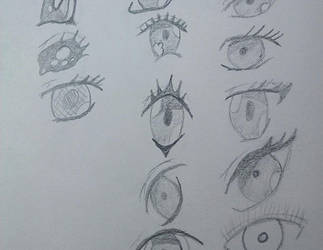 Ojos 1 by Multiversaldrawings