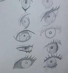 Ojos 2 by Multiversaldrawings