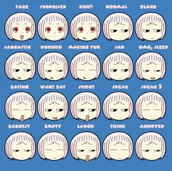 Guu expressions by iseko