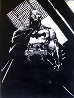 Jim Lee's Batman by theposhtiger